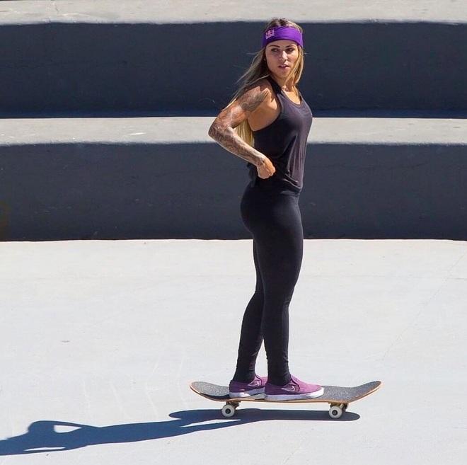 Leticia Bufoni - Người đẹp trượt ván gây sốt tại Olympic Tokyo - 10