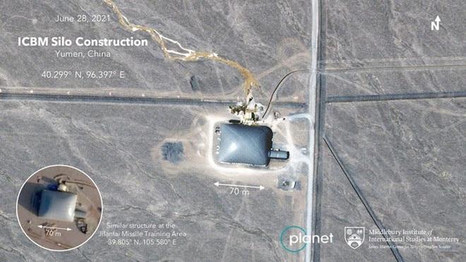 Mỹ bất an khi Trung Quốc xây thêm 110 hầm chứa tên lửa - 1