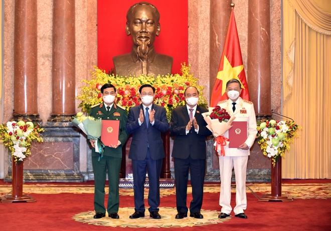 Chủ tịch nước tin tưởng Chính phủ mới hoàn thành nhiệm vụ đẩy lùi Covid-19 - 1