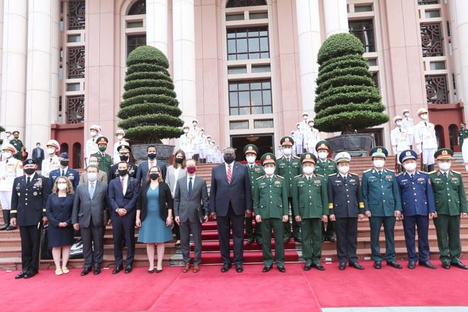 Bộ trưởng Phan Văn Giang đón, hội đàm với Bộ trưởng Quốc phòng Mỹ - 6