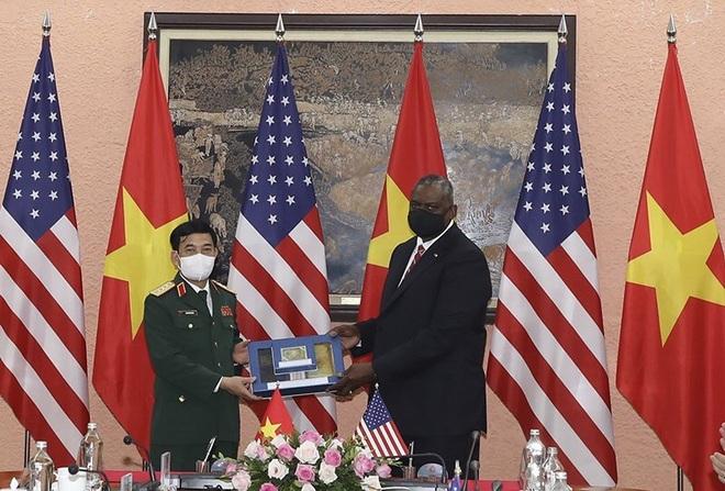Bộ trưởng Phan Văn Giang đón, hội đàm với Bộ trưởng Quốc phòng Mỹ - 5
