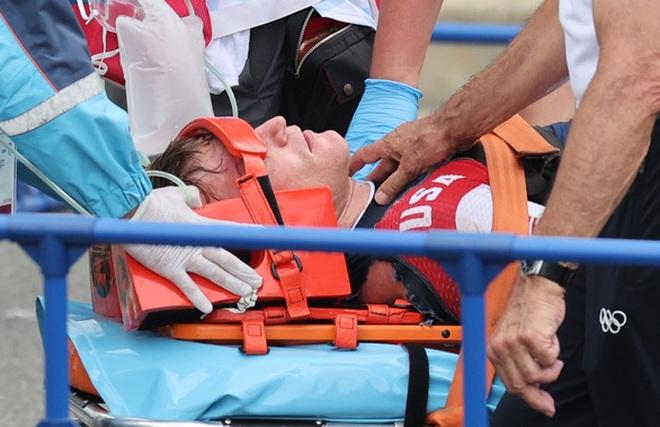 Nhà vô địch Olympic bị xuất huyết não sau tai nạn kinh hoàng - 2