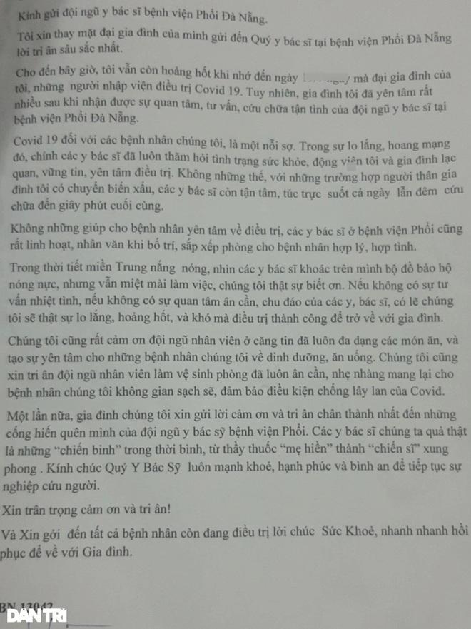 Chuyến đi viện nhớ đời của đại gia đình 8 người mắc Covid-19 ở Đà Nẵng - 3