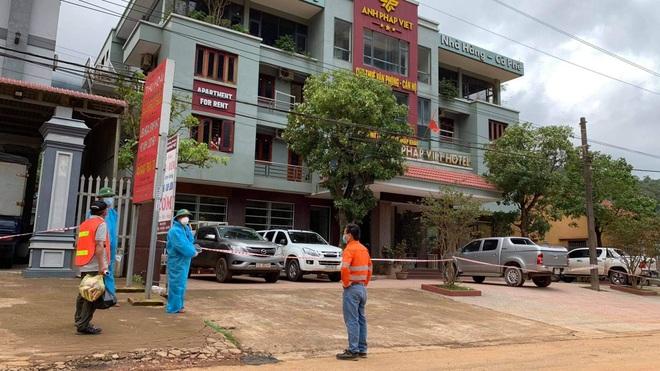 Tài xế dương tính SARS-CoV-2 ở Quảng Bình, CDC 6 tỉnh cấp tốc truy vết   - 1