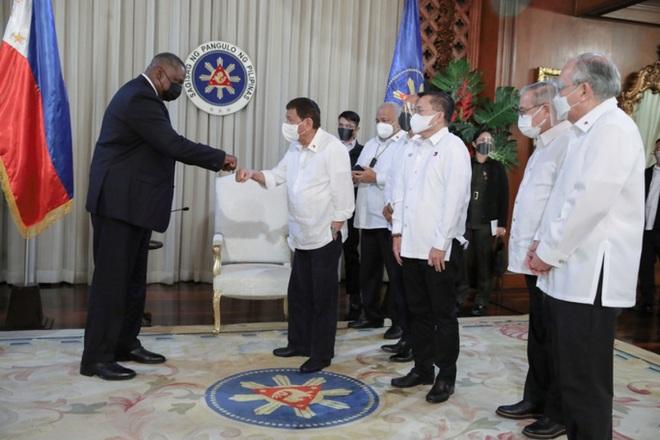 Quan hệ Mỹ - Philippines nồng ấm trở lại - 1