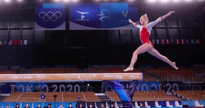 Thiên thần Thể dục dụng cụ mang thành công về cho nước Nga - 1