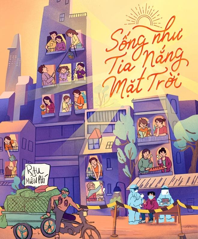 Nghệ sĩ Việt cùng san sẻ những nỗi khổ cực của người dân Sài Gòn - 1