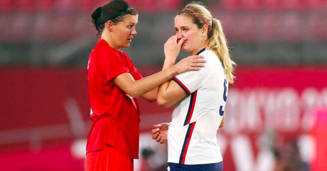 Loại đội tuyển nữ Mỹ, Canada vào chung kết Olympic gặp Thụy Điển - 2