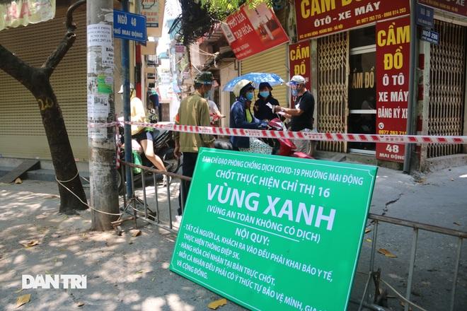 40 chốt vùng xanh đầu tiên ở Hà Nội - 1
