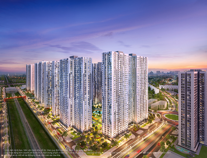 Xiêu lòng trước chuẩn sống quốc tế đa dạng của Vinhomes Smart City - 2