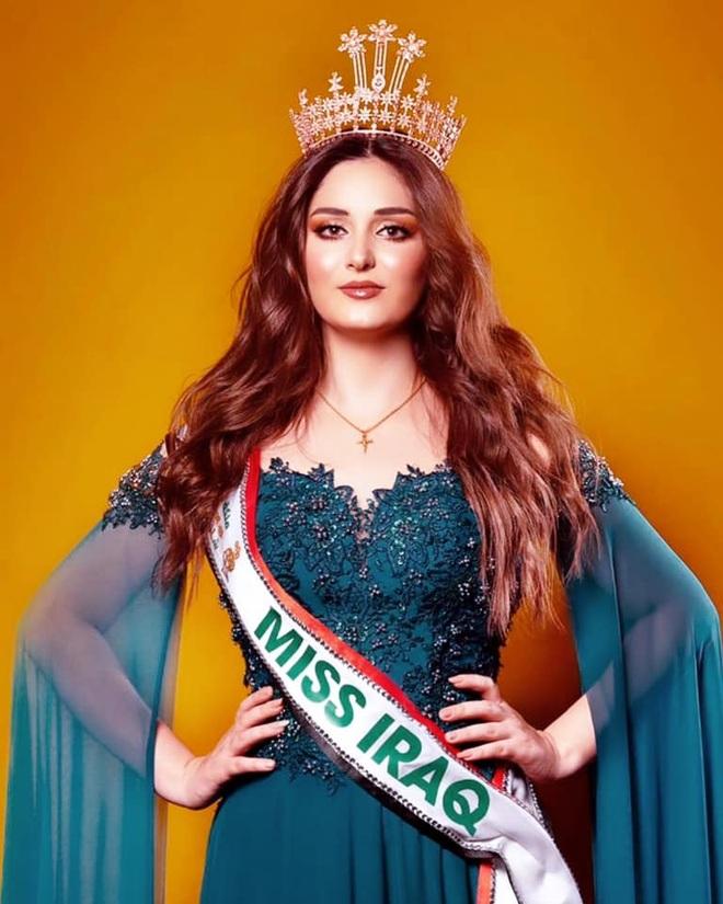 Gương mặt đẹp như búp bê của Hoa hậu Iraq đầu tiên dự Hoa hậu Thế giới - 1