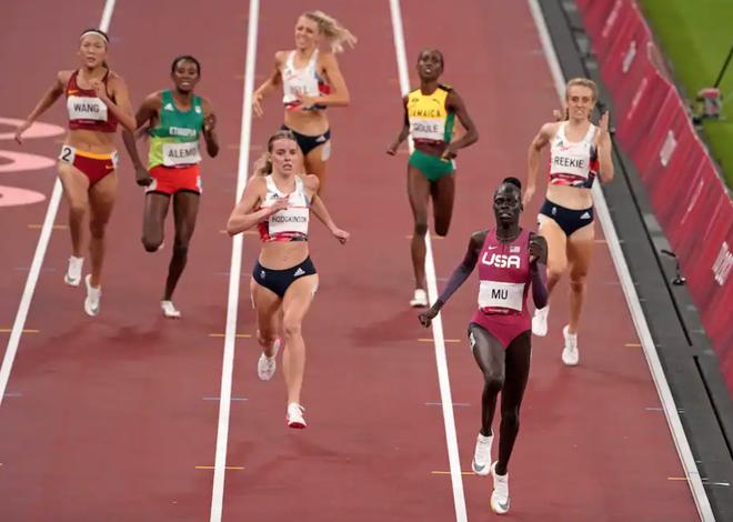 Mỹ giành HCV Olympic điền kinh 800m nữ sau 53 năm - 1
