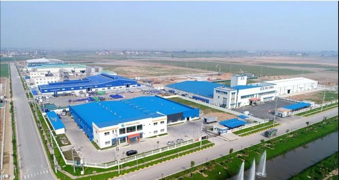 Việc bán - tái thuê bất động sản công nghiệp là hình thức M&A được đánh giá cả hai bên cùng thắng (Ảnh: KCN Yên Phong, Bắc Ninh).