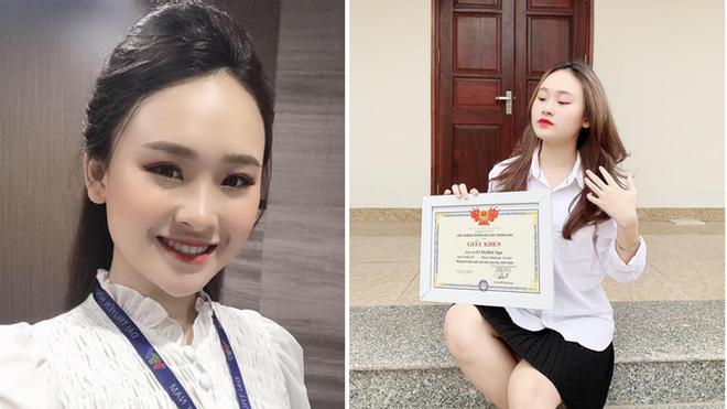 Nữ MC trẻ trường ĐH Thương Mại: Hãy gõ, cánh cửa sẽ mở ra - 4