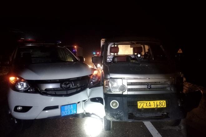 Thanh niên trộm xe tải ở Bình Định, thông chốt kiểm dịch Bình Thuận - 1