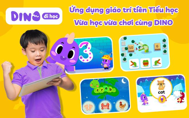 Giải pháp giáo dục cho trẻ - Gói gọn trong ứng dụng DINO đi học - 2