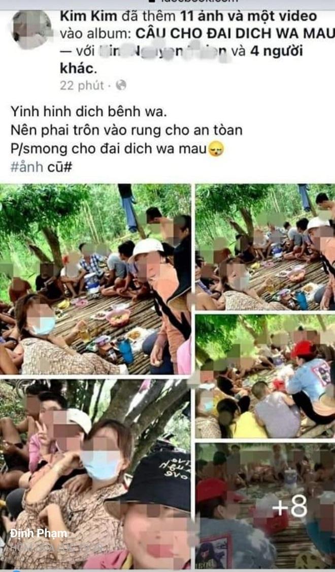 21 thanh niên vào rừng nhậu rồi khoe trên Facebook, bị phạt 210 triệu đồng - 1
