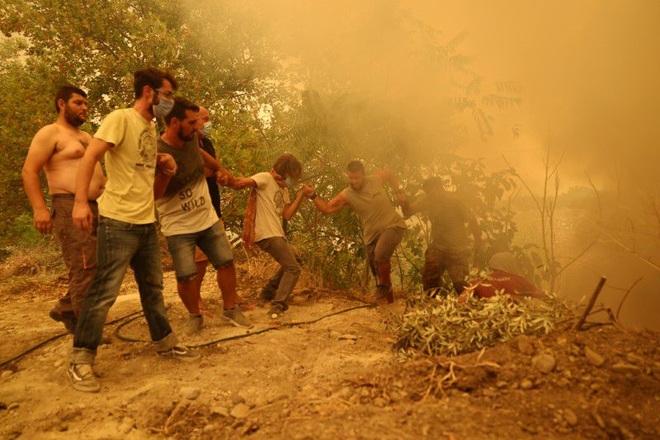 Hứng sóng nhiệt kỷ lục trong 30 năm, Hy Lạp vật lộn với cháy rừng - 4