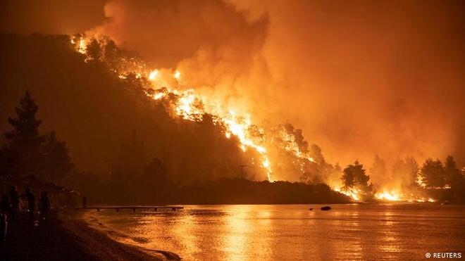 Hứng sóng nhiệt kỷ lục trong 30 năm, Hy Lạp vật lộn với cháy rừng - 5