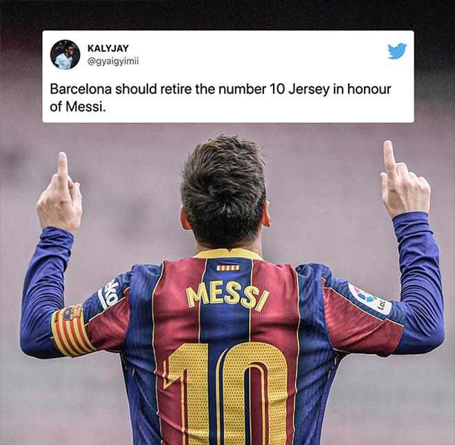 Không cầu thủ nào ở Barcelona nhận khoác áo số 10 do Messi để lại - 2
