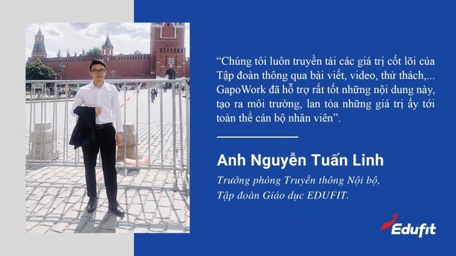 EDUFIT triển khai làm việc từ xa thành công nhờ nền tảng giao tiếp GapoWork - 1