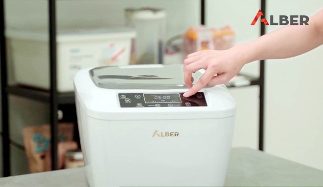 Máy zone Alber làm sạch và khử độc thực phẩm an toàn - 3
