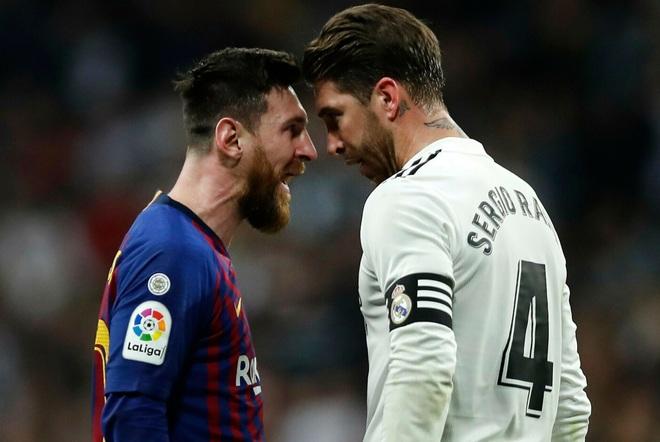 Sergio Ramos có thái độ 'lạ thường' với Messi