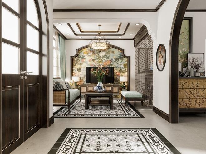 """Căn nhà tập thể cũ được """"lột xác"""" bằng phong cách nội thất sử dụng nhiều vật liệu tự nhiên."""