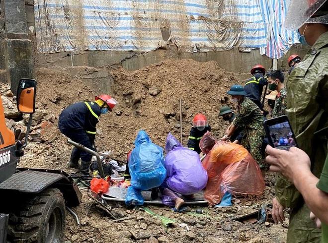Sạt bờ kè ở Hạ Long, 4 người bị vùi lấp khi đang ngủ say - 2