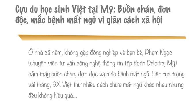Cựu du học sinh Việt tại Mỹ: Buồn chán, đơn độc, mắc bệnh mất ngủ mùa dịch - 1