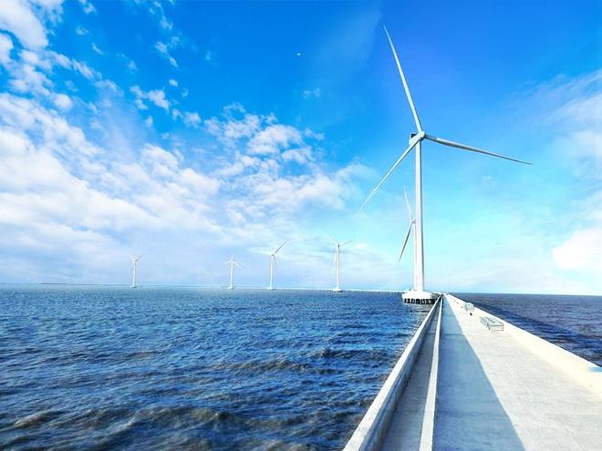 Nhà máy điện gió số 7, tỉnh Sóc Trăng sẵn sàng hòa lưới điện quốc gia - 1