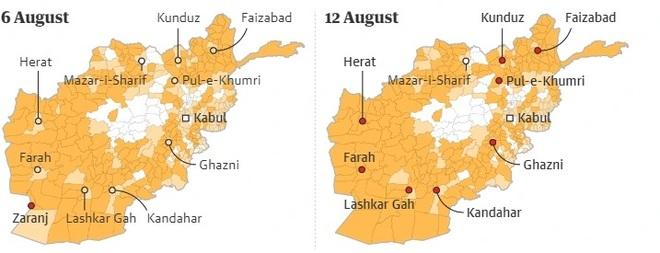 7 ngày Taliban tấn công chớp nhoáng làm rung chuyển Afghanistan - 3