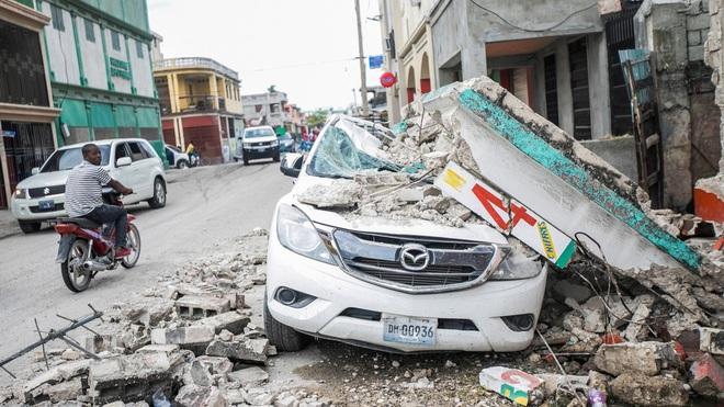 Haiti tan hoang sau động đất kinh hoàng, 1.297 người chết - 13