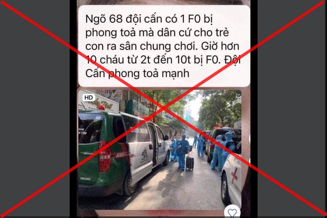 Hà Nội: Quận Ba Đình lên tiếng về thông tin 10 trẻ em ở Đội Cấn là F0
