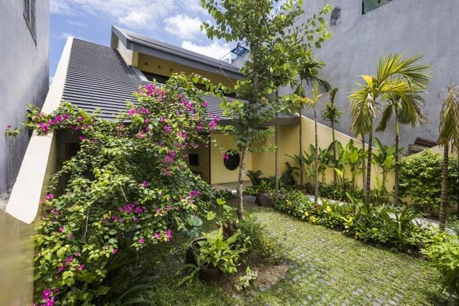 Ngôi nhà nhỏ xanh mướt của gia đình trẻ ở Đà Nẵng - 2