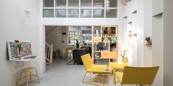 Thiết kế đẹp lạ trong quán cà phê cải tạo từ tòa nhà hơn 70 năm tuổi - 10