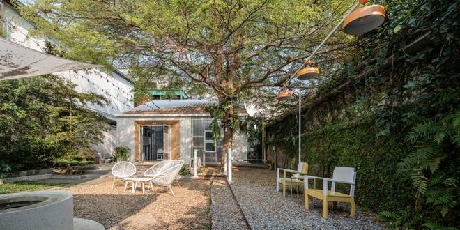 Thiết kế đẹp lạ trong quán cà phê cải tạo từ tòa nhà hơn 70 năm tuổi - 12