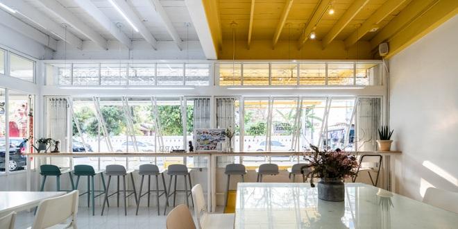 Thiết kế đẹp lạ trong quán cà phê cải tạo từ tòa nhà hơn 70 năm tuổi - 13