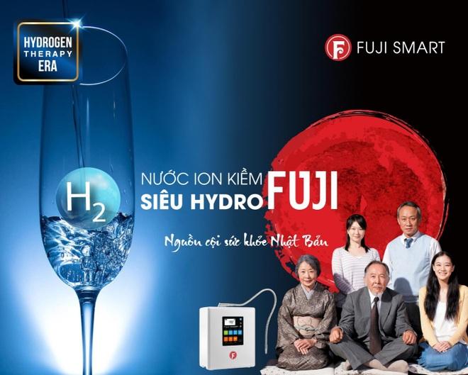 Ra mắt Fuji Smart i9 máy lọc nước ion kiềm siêu Hydro trên 100 triệu đồng - 1