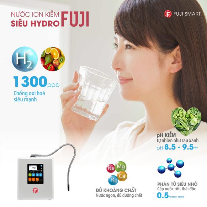 Ra mắt Fuji Smart i9 máy lọc nước ion kiềm siêu Hydro trên 100 triệu đồng - 4