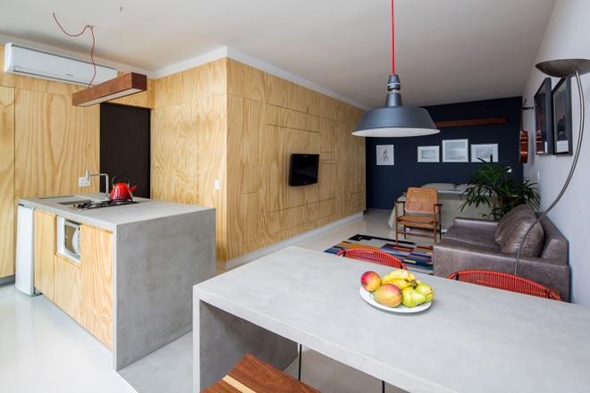 Căn hộ 35 m2 đầy đủ công năng nhờ cách bố trí nội thất thông minh - 4