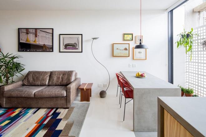 Căn hộ 35 m2 đầy đủ công năng nhờ cách bố trí nội thất thông minh - 1