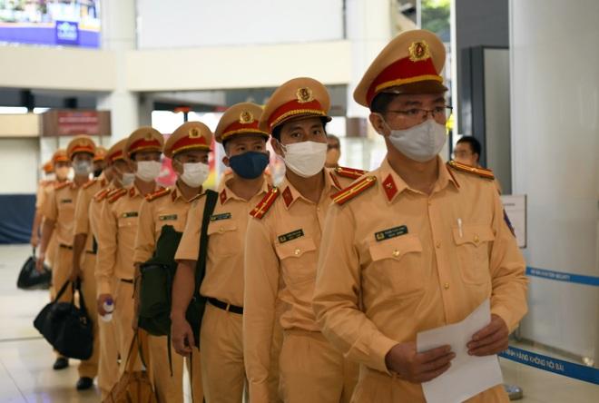 1.000 quân nhân từ Hà Nội vào TPHCM chống dịch - 5