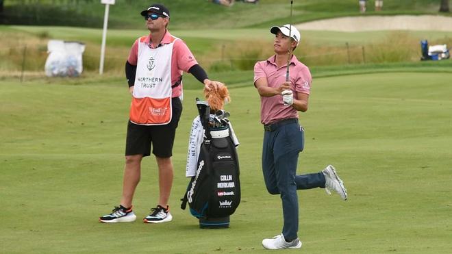 Collin Morikawa bị loại sớm khỏi giải golf Northern Trust - 1