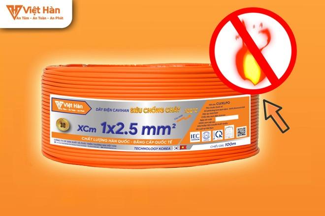 Giải pháp phòng chống giặc lửa hiệu quả từ dây điện siêu chống cháy - 5