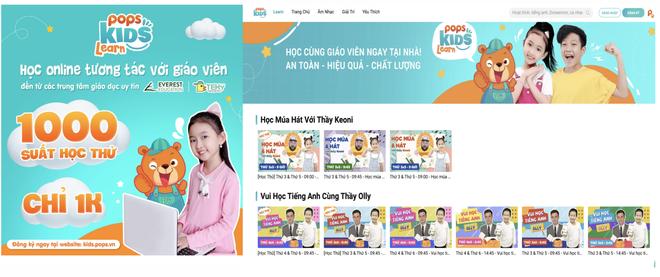 POPS Kids Learn: Giải pháp trang bị kiến thức cho bé mùa tựu trường online - 1