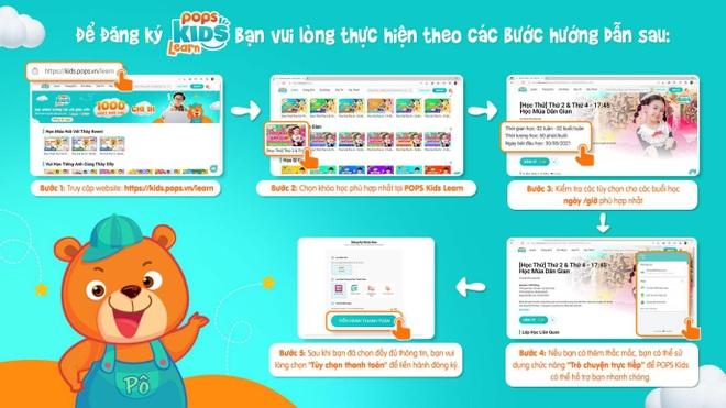 POPS Kids Learn: Giải pháp trang bị kiến thức cho bé mùa tựu trường online - 2