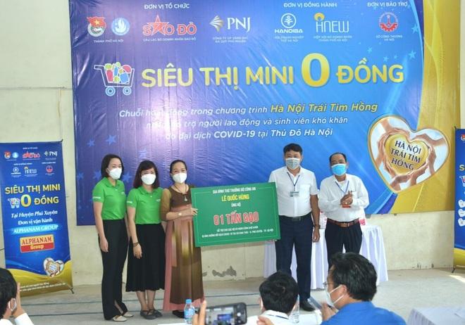 Alphanam Green Foundation vận hành siêu thị mini 0 đồng huyện Phú Xuyên - 3