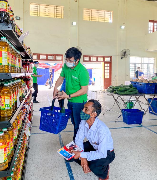 Alphanam Green Foundation vận hành siêu thị mini 0 đồng huyện Phú Xuyên - 5