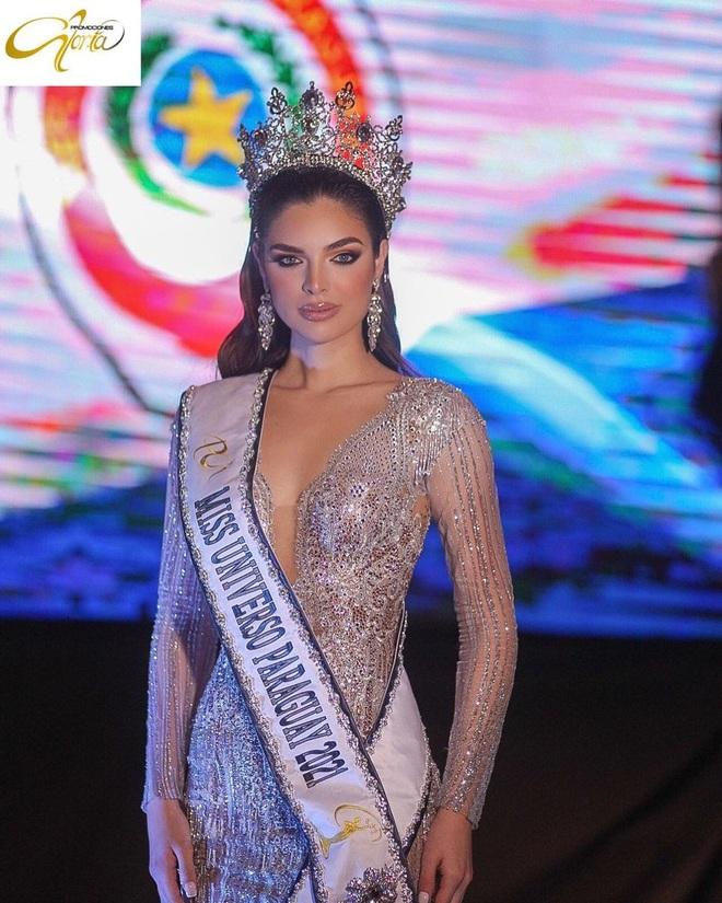 Siêu mẫu trở thành tân Hoa hậu Hoàn vũ Paraguay - 1